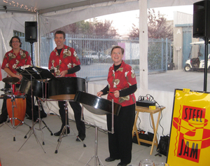 Stee Jam at Chamber of Commerce of Mountain View Mixer 2